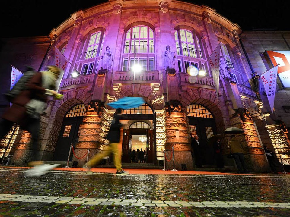 Das Stadttheater Freiburg    Foto: Rita Eggstein