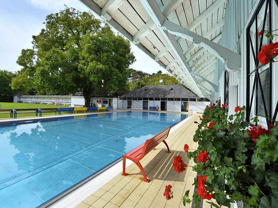 Das Damenbad im Lorettobad ist das letzte Frauenschwimmbad in Deutschland.  | Foto: Michael Bamberger