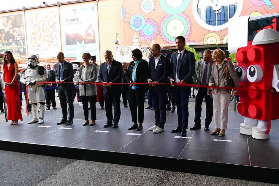 Die Eröffnung der Muba (Foto: Kathrin Ganter)
