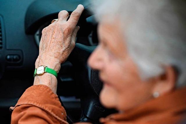 Mehr Unfälle mit Senioren: Verkehrswacht bietet freiwilliges Fahrtraining