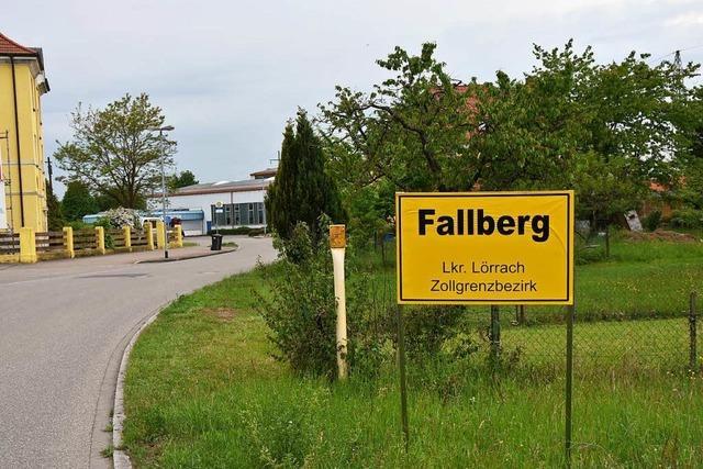 Fallberg-Schilder sind wohl nur ein Scherz