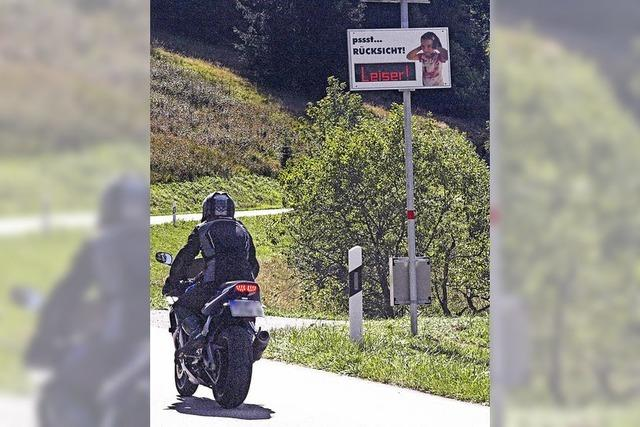 Motorradlärm im Kurort im Visier