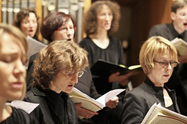 Evangelische Kantorei und das Ensemble Capricornus Consort geben Konzert in der Christuskirche in Rheinfelden