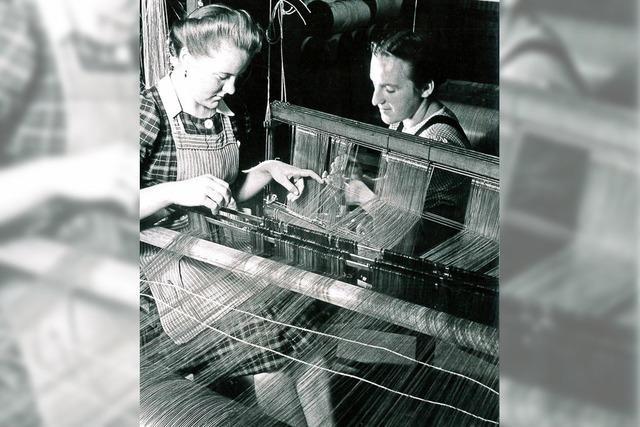 Aufnahmen von Paul Wolff sind im Textilmuseum Brennet in Wehr zu sehen