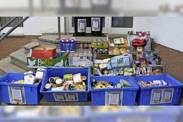 Kolpingfamilie sammelt Lebensmittel
