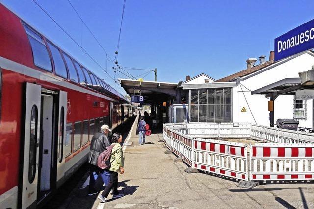Bahn frei für den Bahnhofausbau