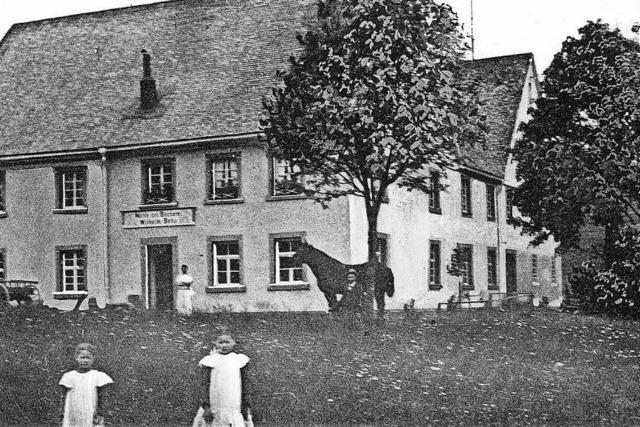 Wilhelm und Maria Beha schließen ihre Bäckerei in Waldau