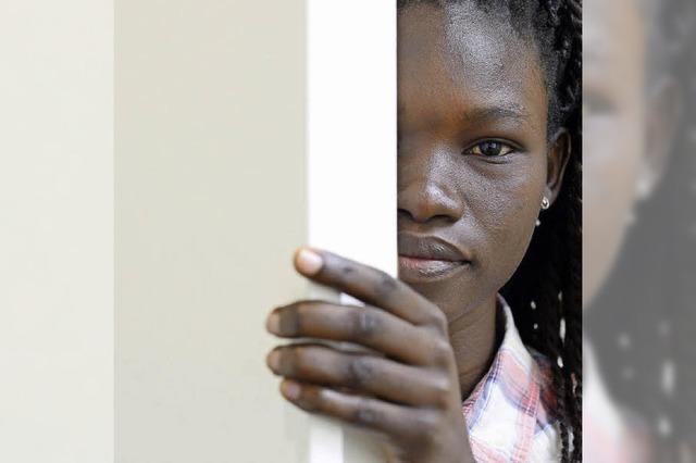 Siama Krispino ist im südsudanesischen Bürgerkrieg aufgewachsen
