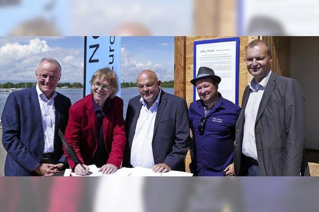 Mietvertrag für Theaterbau am Rhein unterschrieben