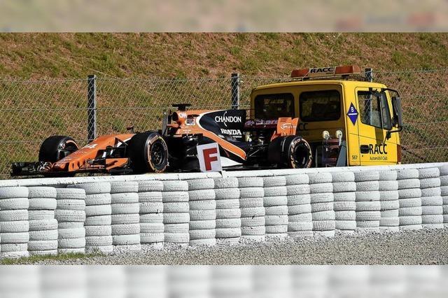 Fernando Alonso hat immer wieder mit Problemen zu kämpfen