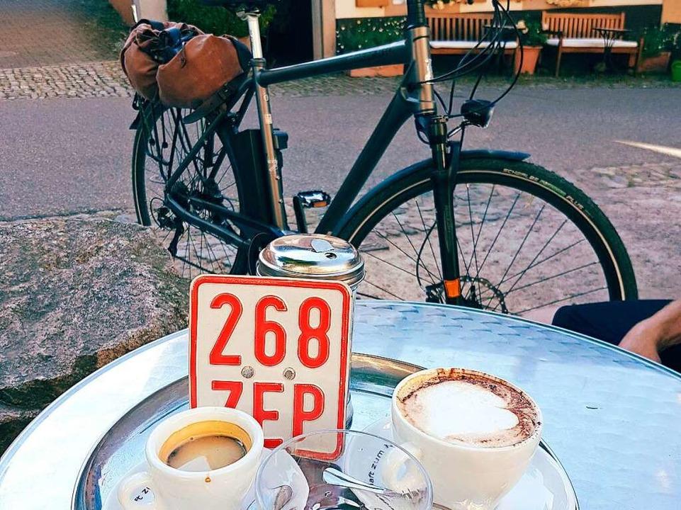 Zweites Frühstück in Staufen  | Foto: Petra Kistler