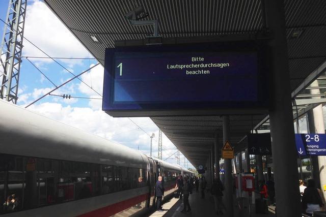 Weltweite Cyber-Attacke traf auch Freiburger Hauptbahnhof