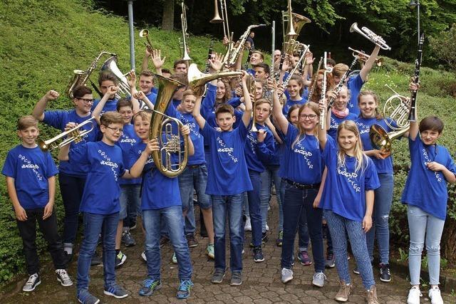 Der Musikverein Inzlingen präsentiert spielfreudigen Nachwuchs