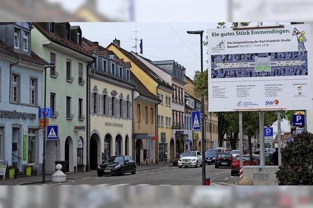 Heute beginnt die Umgestaltung der Karl-Friedrich-Straße