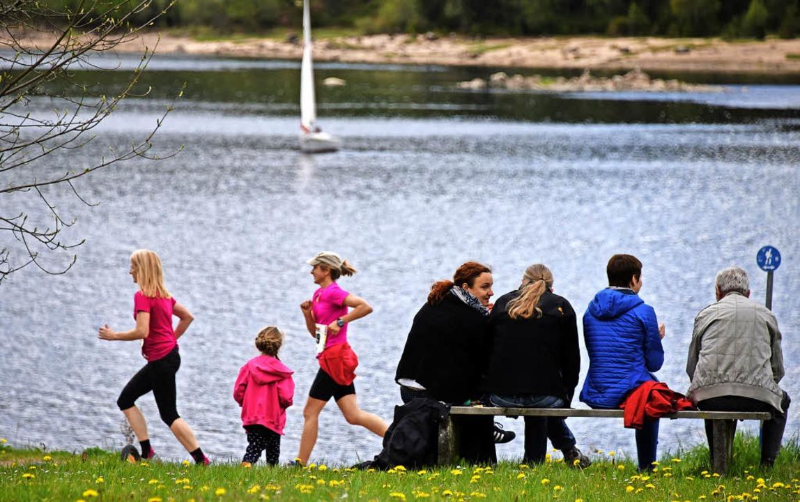 Muttertagsvergnügen: Die einen laufen,...t ein Abenteuer für die ganze Familie.  | Foto: Patrick Seeger