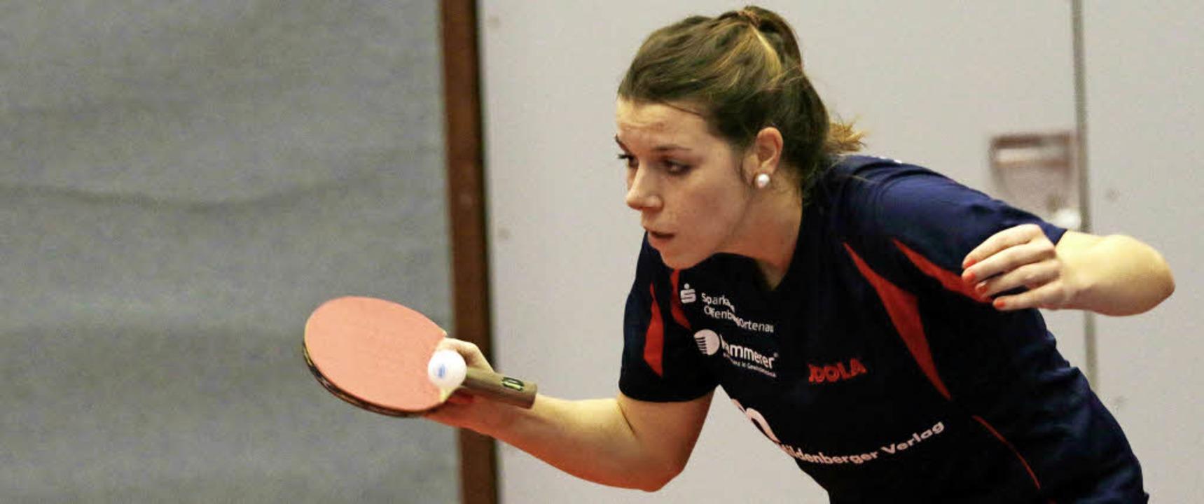 Theresa Lehmann spielte eine starke Runde.   | Foto:  Uwe Rogowski