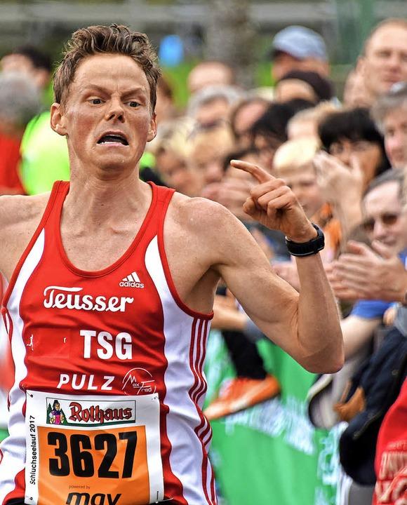 Rekord-Sieger: Benedikt Hoffmann  | Foto: seeger