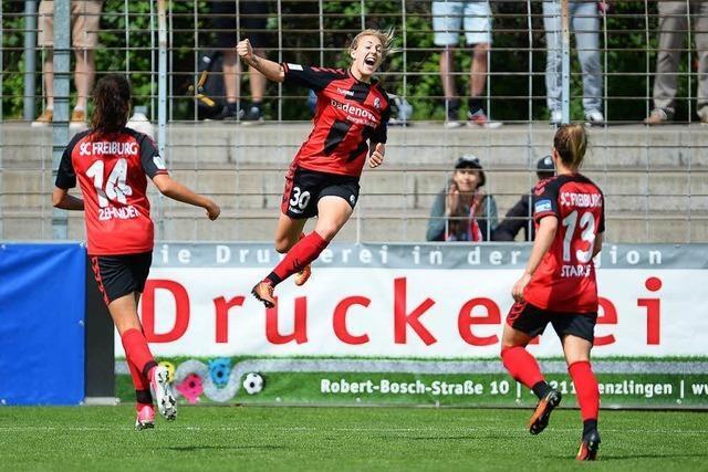 Frauenteam des SC Freiburg schlägt deutschen Meister