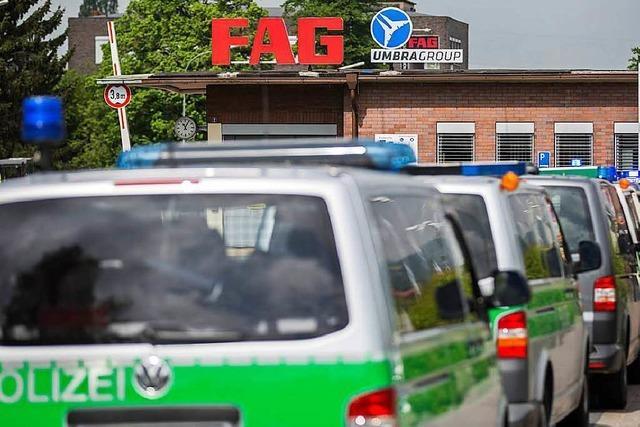 13 Verletzte durch Explosion in Werk von Automobilzulieferer Schaeffler