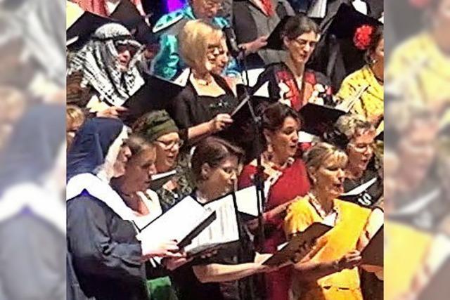 Tumringer Sänger: Erstes Konzert in neuer Halle