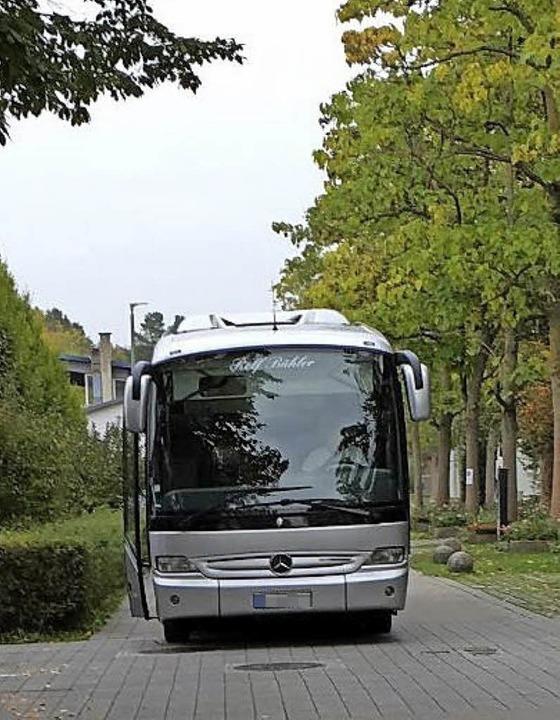 In der Willmann-Allee gibt's für Busse keine Wendemöglichkeit.  | Foto: Perseus Knab