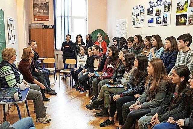 Schulaustausch mit Georgien angebahnt