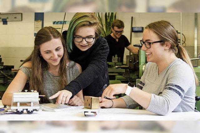 Wie Mädchen den Unterricht am Technischen Gymnasium in Lörrach erleben