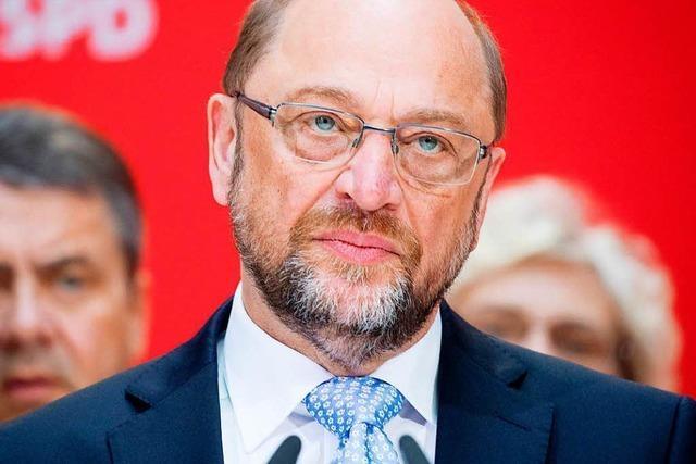 Bei Martin Schulz ist der Lack langsam ab
