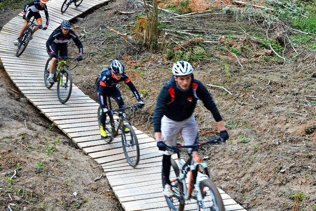 Hexenwald-Trailpark für Mountainbiker eröffnet in Kirchzarten