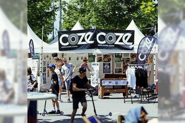 Festival der urbanen Kulturen auf dem Gelände des Skateparks La Rotonde