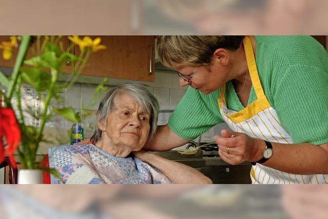 Sondergebiet für Pflege und Wohnen