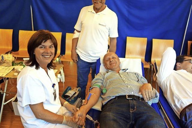 Blutspenden beliebt wie selten zuvor