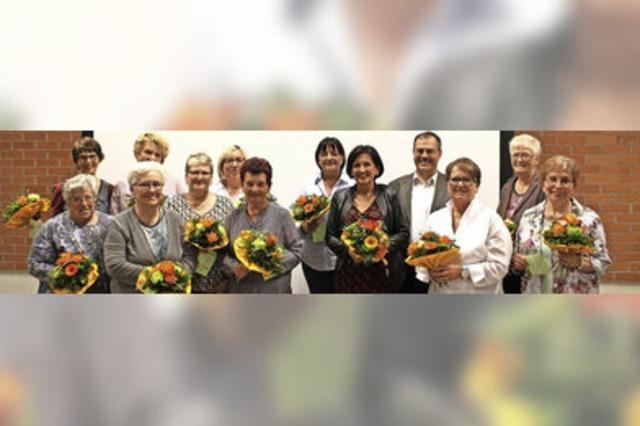 Umbruch bei der Frauengemeinschaft Hartheim
