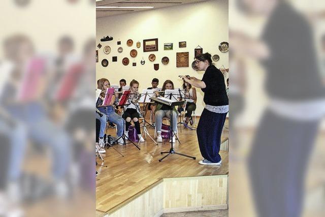 Nachwuchsmusiker geben Jugendkonzert