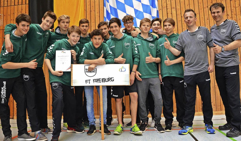 Ein Verein, eine Altersklasse – ... die männliche U16  von 1844 Freiburg   | Foto: privat