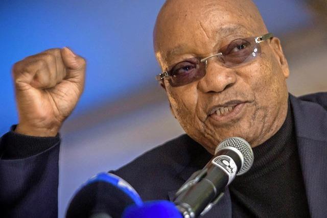 Jacob Zuma, der belagerte Präsident