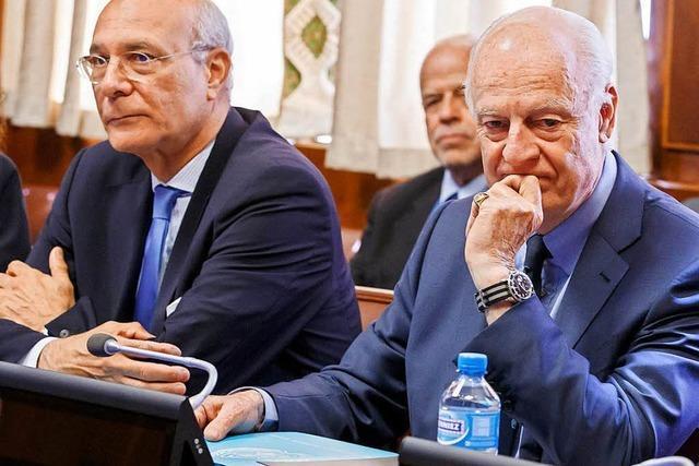 US-Vorwürfe an Damaskus, Syrien-Gespräche in Genf