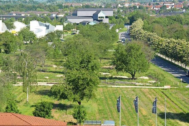 Vitra und Stadt planen gemeinsam eine Wohnbebauung an der Römerstraße