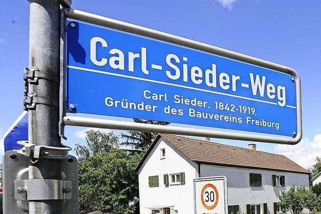 Die Kriterien, nach denen eine Straße benannt werden darf, sind streng