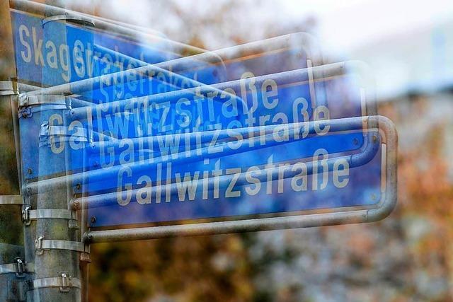 Umbenennung der Straßen wird teuer und bürokratisch für Freiburg