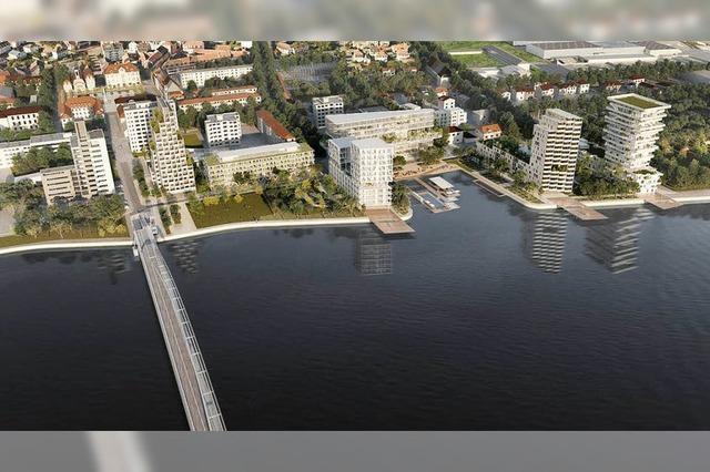 Hüningen schafft am Rhein Wohnraum für 800 neue Bürger