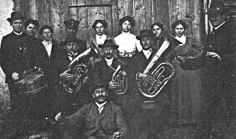 So sah die Gründungsformation des Vereins  im Jahre 1892 aus.  | Foto: MV Wolfenweiler-Schallstadt