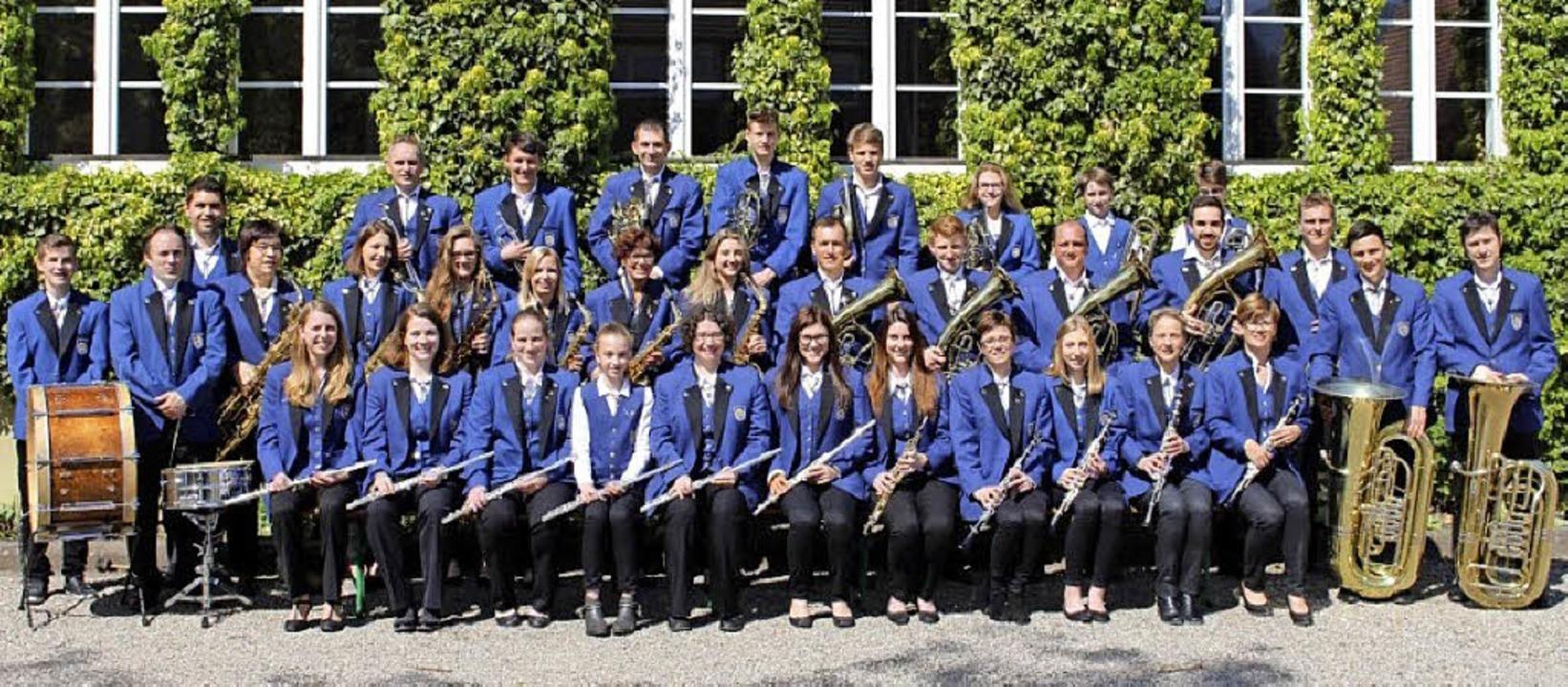 Das Hauptorchester des Musikvereins Wolfenweiler-Schallstadt   | Foto: Musikverein