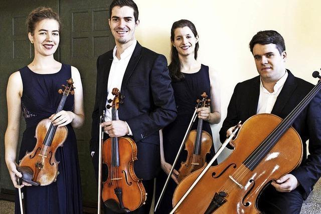 Mit dem Aris Quartett in Hinterzarten