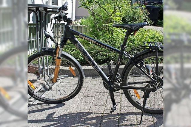 Fahrrad sichergestellt - Polizei sucht Eigentümer