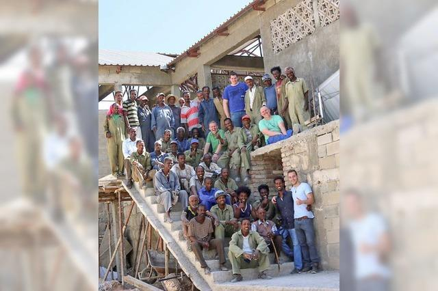 Lörracher helfen erneut beim Bau einer Kinderklinik in Eritrea