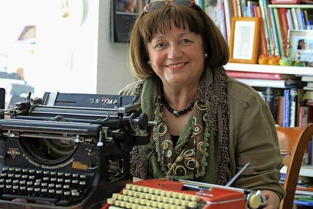 Nach 43 Jahren hört Schreibmaschinenlehrerin Ursel Schwab auf