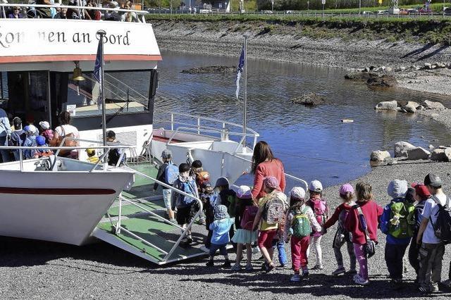 Mit siebzig Kindern auf großer Fahrt