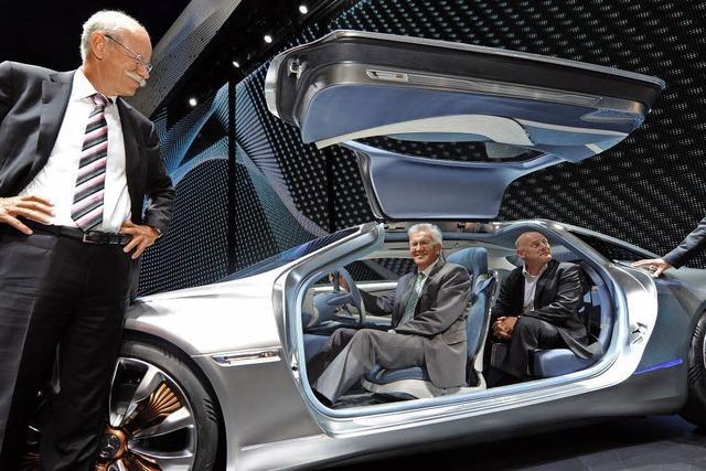 Ministerpräsident Kretschmann will mit Automanagern über den Mobilitätswandel sprechen