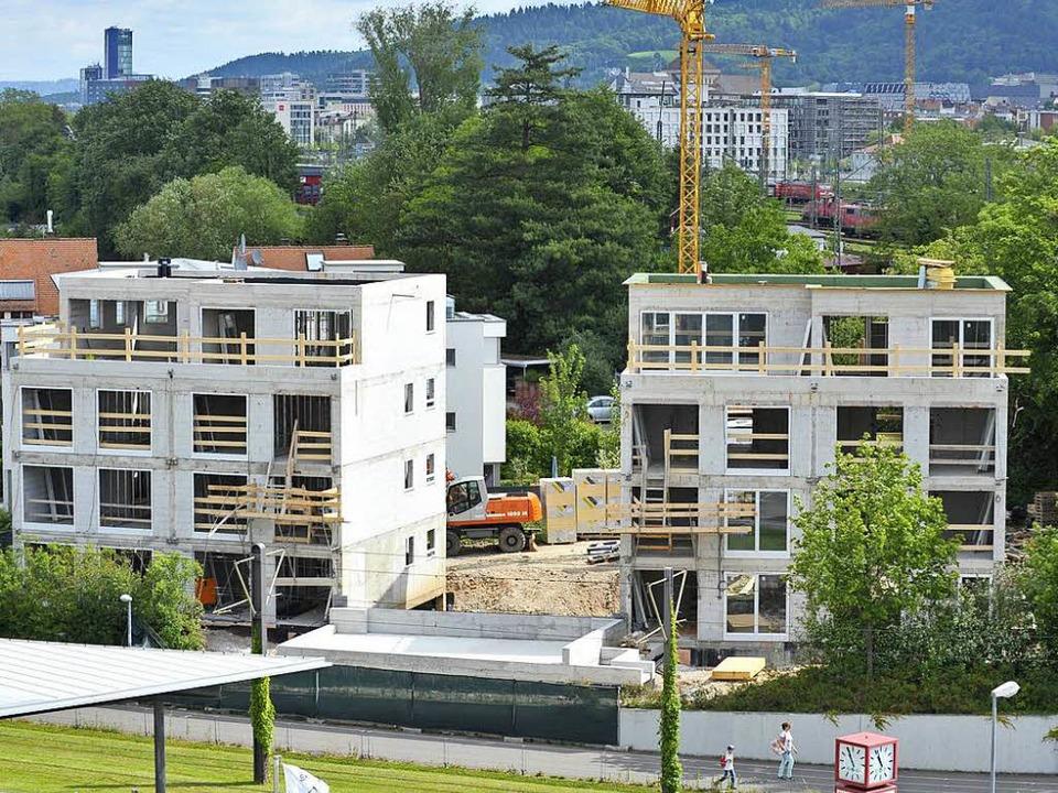 Es ging auch um dieses Bauprojekt &#82...rugs verurteilt (Archivfoto von 2015).  | Foto: Michael Bamberger